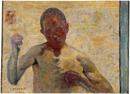 Le Boxeur, Pierre Bonnard, 1931 © RMN-Grand Palais (musée d'Orsay) / Michèle Bellot © ADAGP, Paris 2015