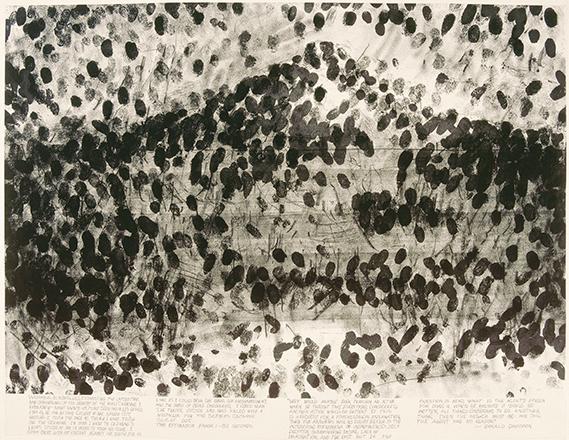 Blind Time V (Temps aveugle V), Robert Morris, 1997 ©RMN-Grand Palais (musée du Louvre) / Michèle Bellot ©ADAGP, Paris 2016