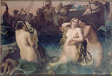 Ulysse, peinture de Victor Mottez (1809-1897)  © RMN-Grand Palais /  Gérard Blot