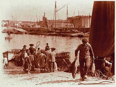 Le travail entre terre et mer