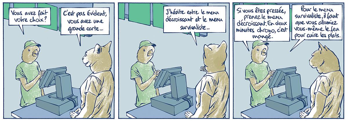 Par James, auteur de bande dessinée