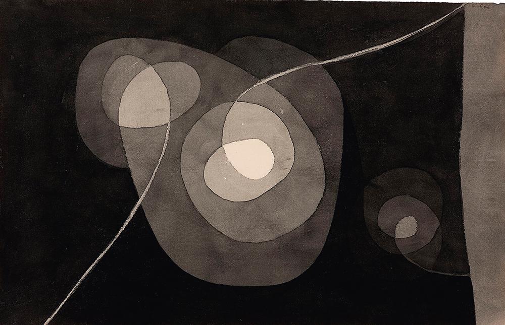 Spiralschraubenblüten II, Paul Klee, 1915 © BPK, Berlin, Dist. RMN-Grand Palais / Michael Herling / Aline Gwose