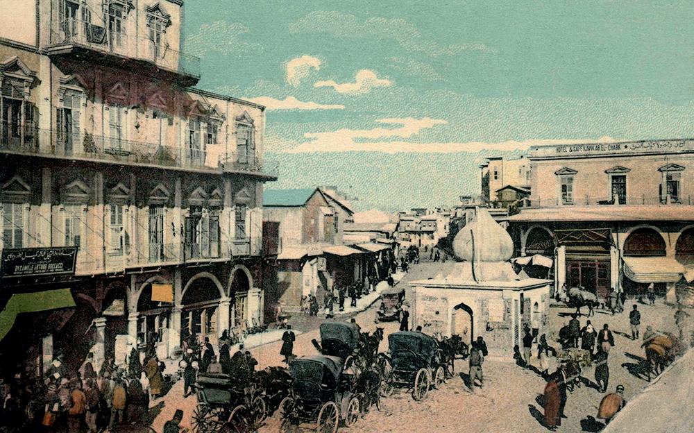 Place de Bab el-Faradj, vers 1900 © Rue des Archives/Collection Grégoire