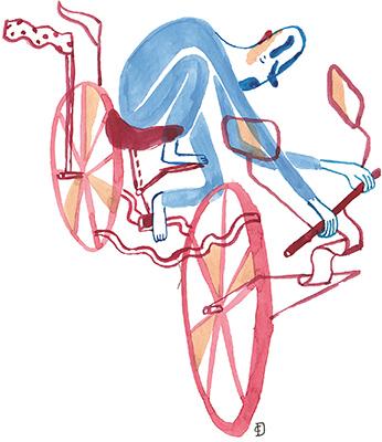 Jacques Réda - La bicyclette