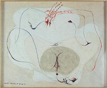 La Terre, André Masson, 1939 © Centre Pompidou, MNAM-CCI, Dist. RMN-Grand Palais / Jacqueline Hyde © ADAGP, Paris 2015
