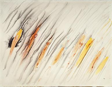 Sans titre, Henri Michaux, vers 1960 ©Centre Pompidou, MNAM-CCI, Dist. RMN-Grand Palais / Philippe Migeat ©ADAGP, Paris 2014
