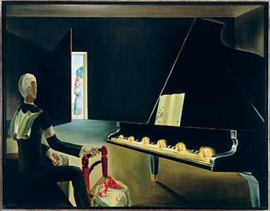 Hallucination partielle. Six images de Lénine sur un piano, 1931, SalvadorDali (1904-1989)  ©Centre Pompidou, MNAM-CCI, Dist. RMN-Grand Palais / Jacques Faujour ©Fundacio Gala-Salvador Dali, ADAGP, Paris 2015