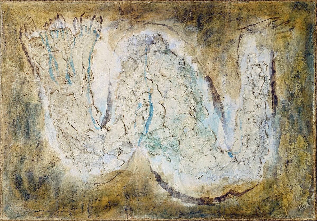 L'Écorché, Jean Fautrier (1898-1964) © Centre Pompidou, MNAM-CCI, Dist. RMN-Grand Palais / Philippe Migeat© ADAGP, Paris 2014