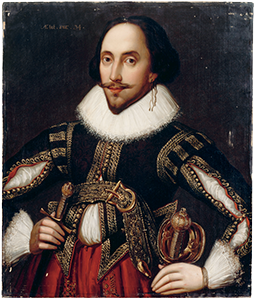 William Shakespeare, <i>Cette parcelle bénie…</i>