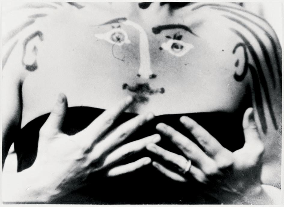 Photo de tournage du film Charlotte Corday de Picasso et F.Rossif, Robert Picault, 1950 © Rmn-Grand Palais (musée national Picasso - Paris) / Daniel Arnaudet © Aureillan Anne