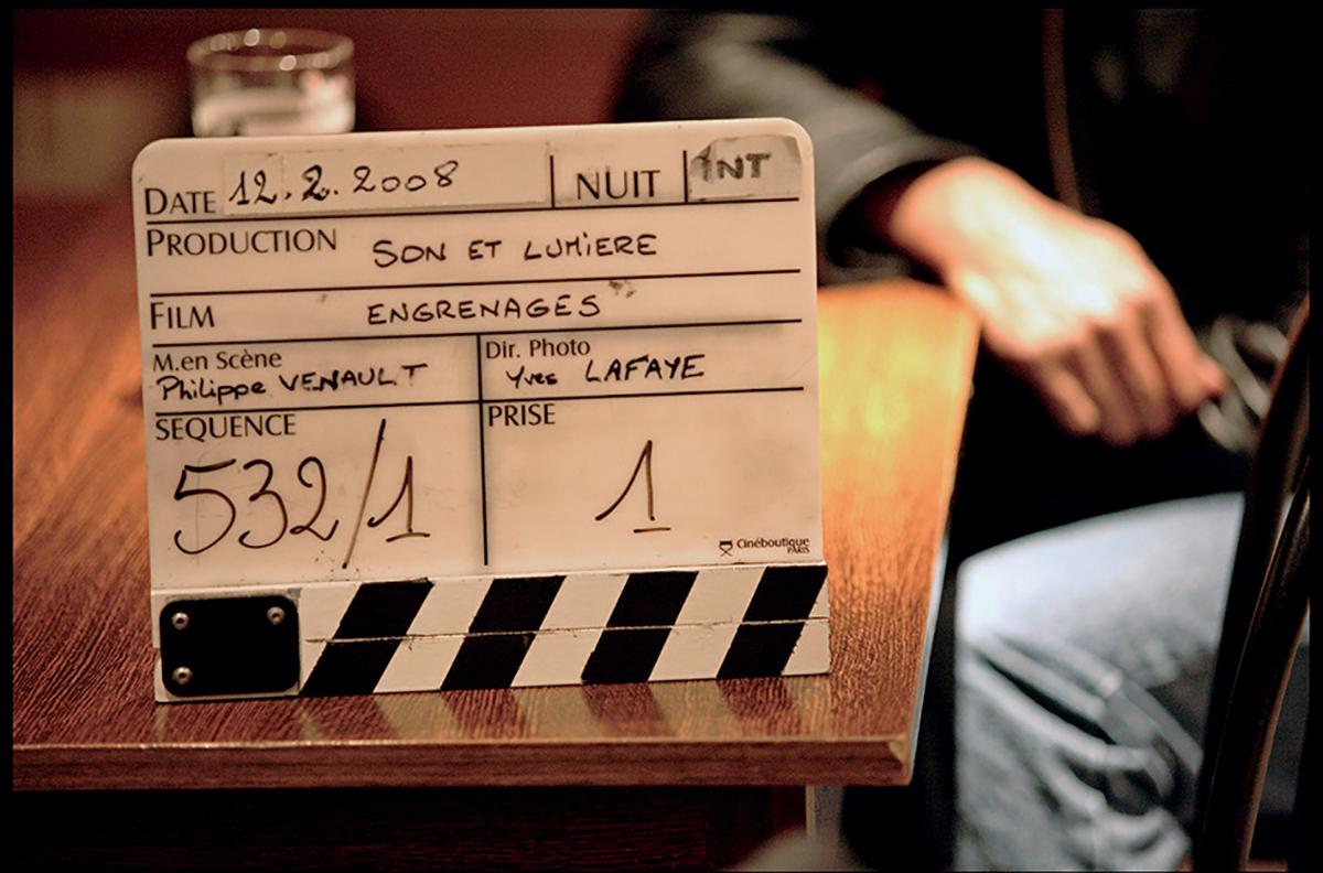 Clap de tournage de la saison 2 d'Engrenages ©Prod DB / AllPix / Aurimages