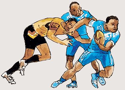 La force du rugby