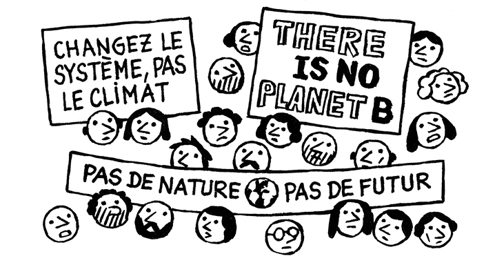 «Ces jeunes interpellent la planète tout entière»