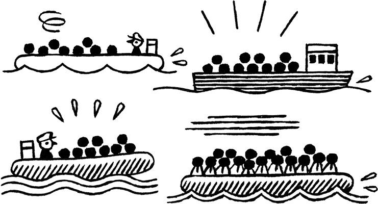 «Les migrants sont exposés à une violence qui se poursuit chez nous»