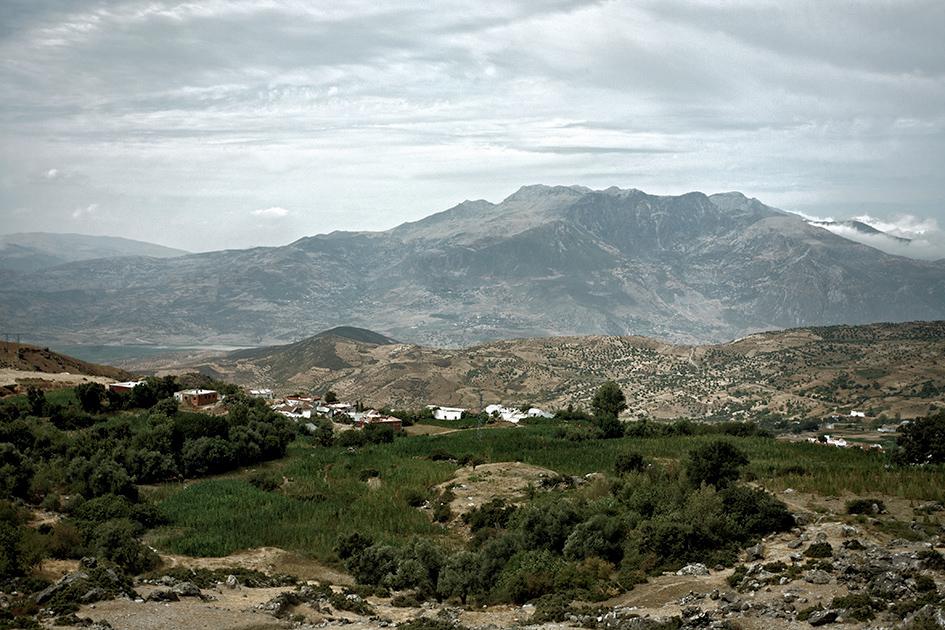 «La route du kif», dans le Rif marocain © Jérémy Charbaut / hanslucas.com