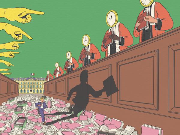 «On ne peut pas laisser  le corps judiciaire s'autogérer»