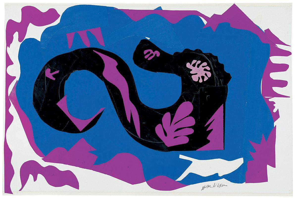 Le Dragon, Henri Matisse, 1943-1944 ©Succession H.Matisse Photo: ©Archives Henri Matisse