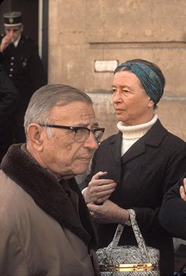 «Sartre et beauvoir défient leur époque»