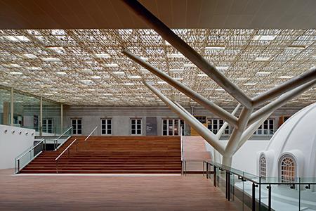 Le «nouveau» musée national de Singapour, aménagé par Jean-François Milou, ouvrira ses portes fin 2015. Sa première exposition temporaire sera produite en collaboration avec le Centre Pompidou. © Fernando Javier Urquijo/studio Milou