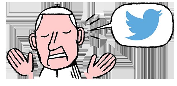 @Pontifex, twittos devant l'éternel