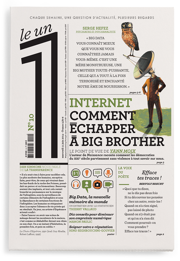 Internet, comment échapper à Big Brother