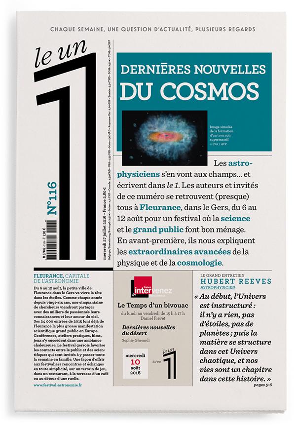 Dernières nouvelles du cosmos