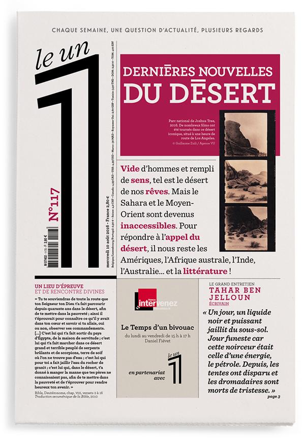 Dernières nouvelles du désert