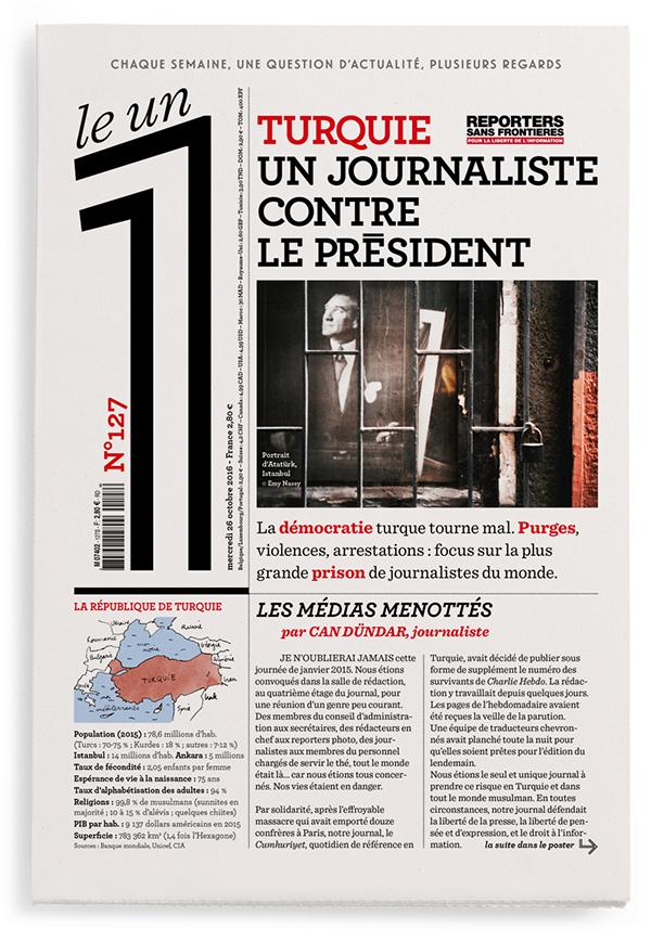 Turquie : un journaliste contre le président