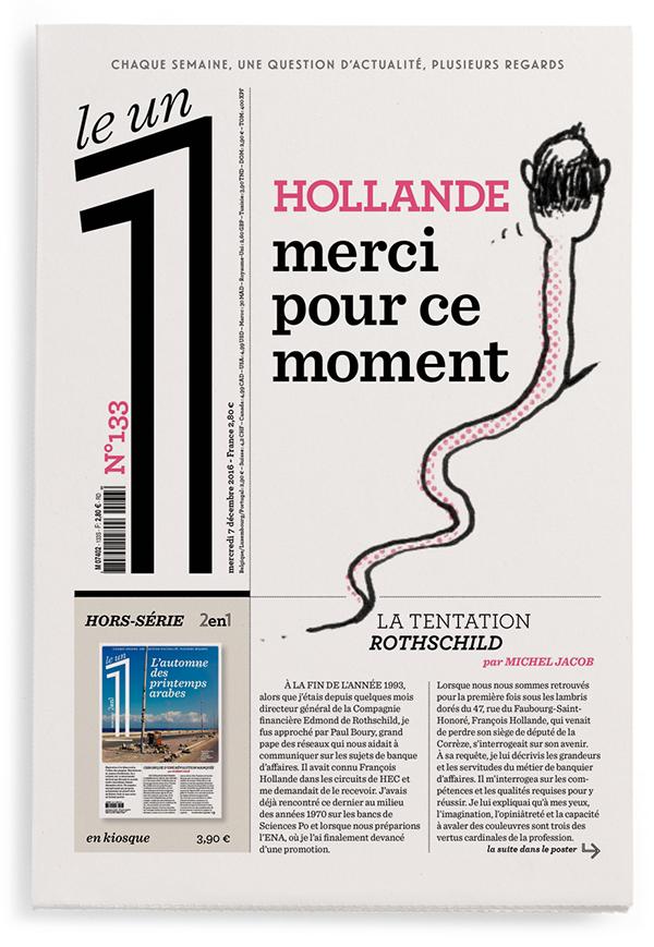Hollande, merci pour ce moment