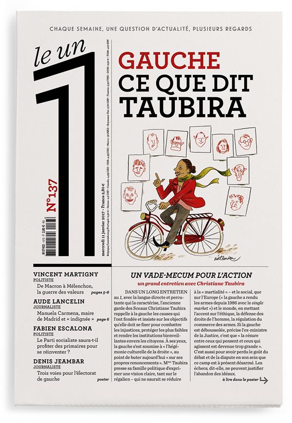 Gauche : ce que dit Taubira