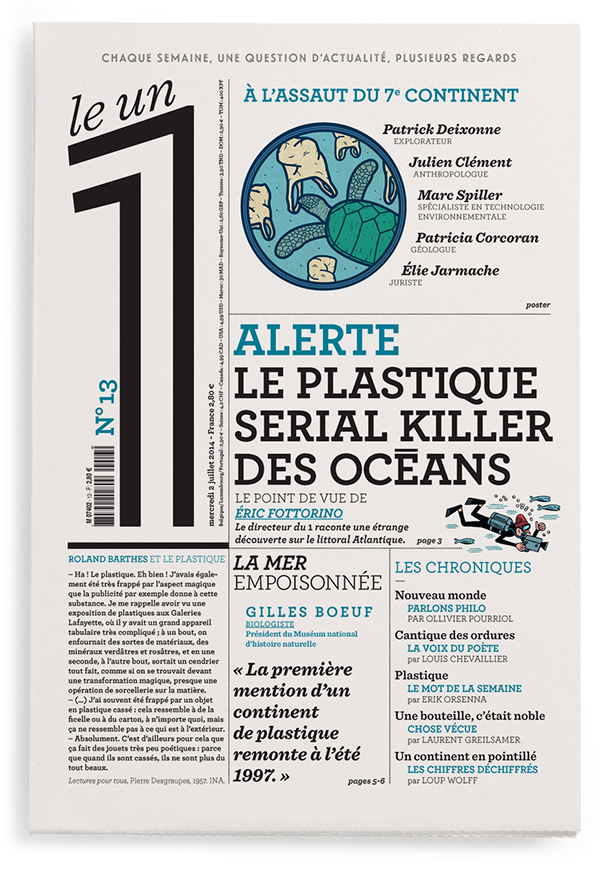 Alerte - Le plastique serial killer des océans