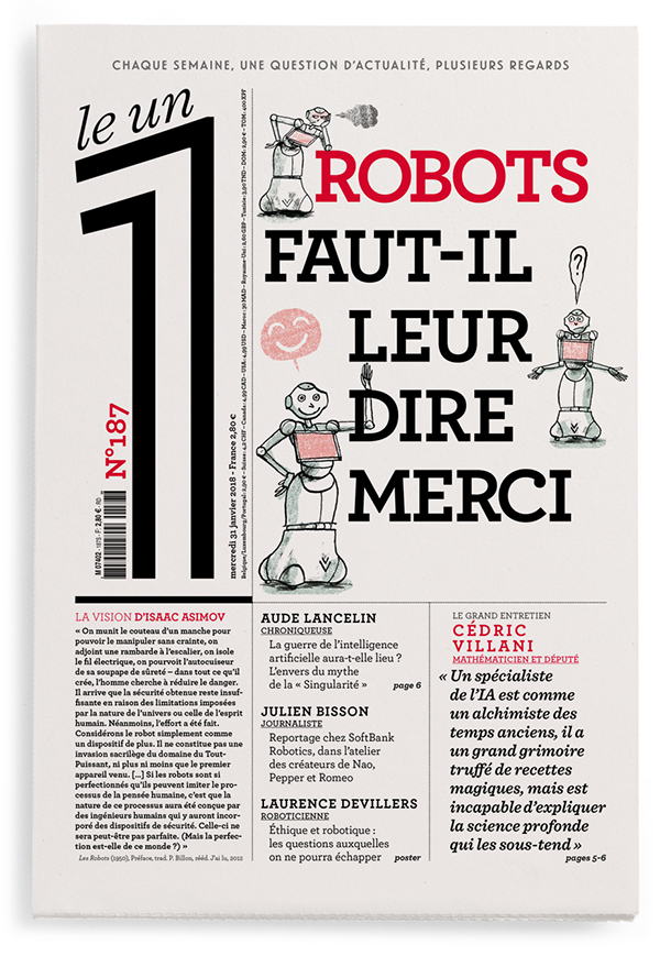 Robots : faut-il leur dire merci ?