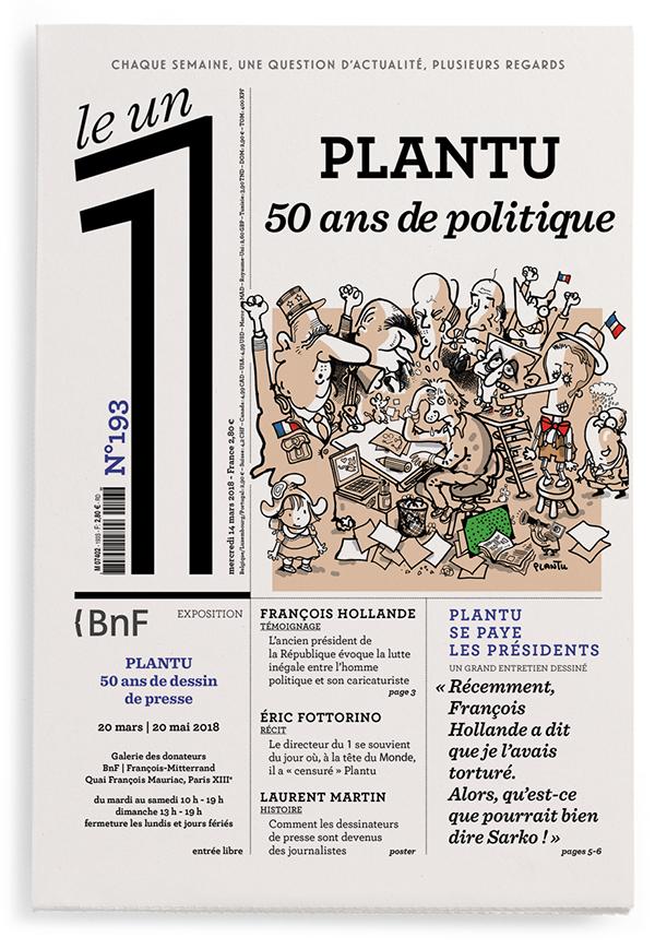 Plantu : 50 ans de politique