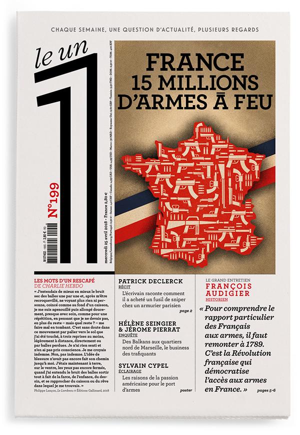 France : 15 millions d'armes à feu