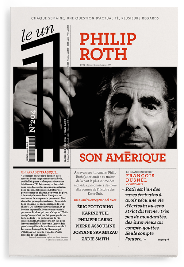Philip Roth : son Amérique