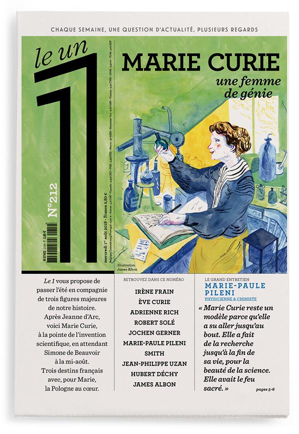Marie Curie, une femme de génie