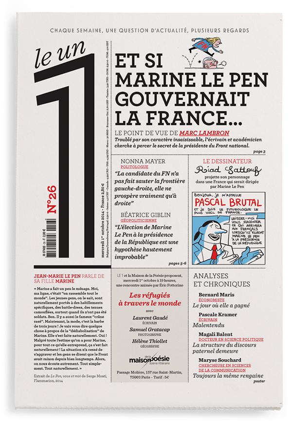 Et si  Marine Le Pen gouvernait la France…