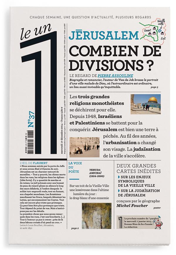 Jérusalem : combien de divisions?