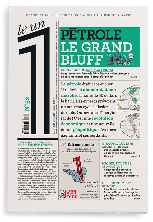Pétrole : le grand bluff