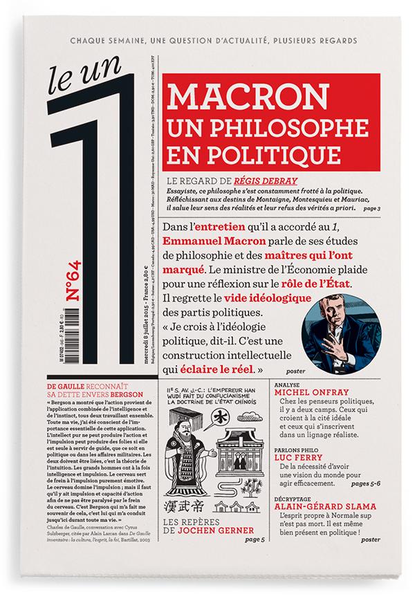 Macron  Un Philosophe En Politique