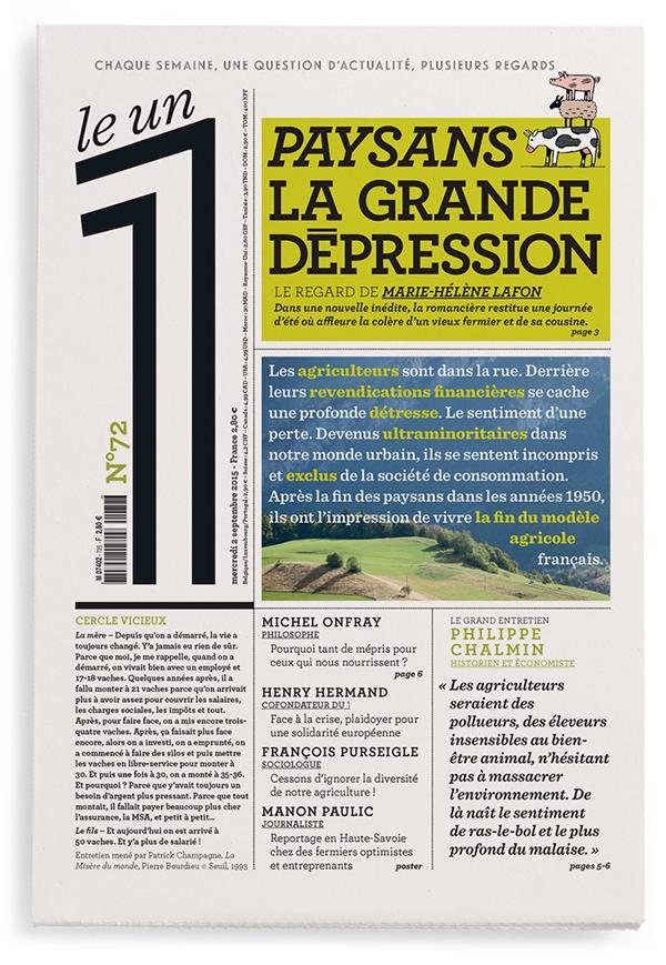 Paysans, la grande dépression
