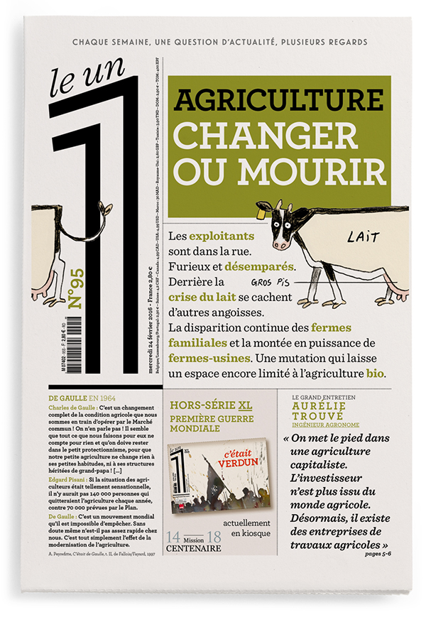 Agriculture : changer ou mourir
