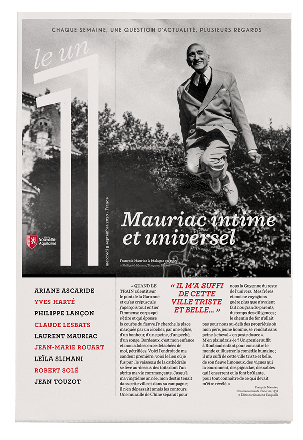 Mauriac intime et universel