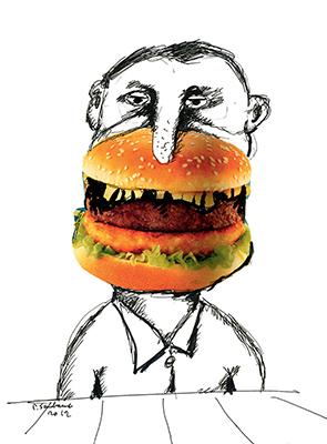 L'ambiguïté du burger