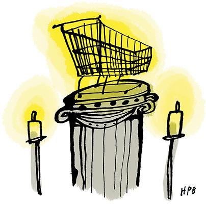 Allen Ginsberg - Un supermarché en Californie