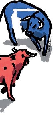<i>Les Deux Taureaux et une Grenouille</i>