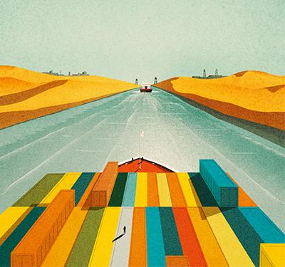 Suez, le canal monde