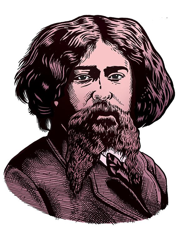 les auteurs du 1 : Alphonse Daudet