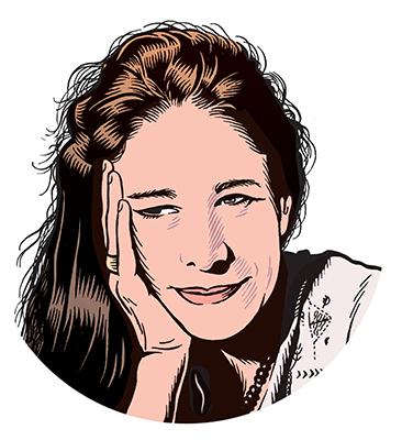 les auteurs du 1 : Anne Dufourmantelle
