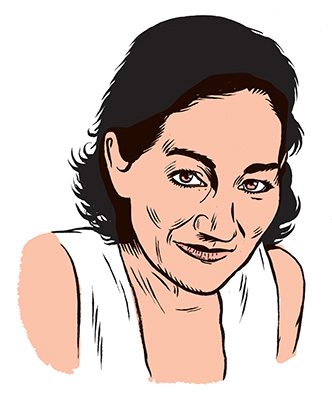 les auteurs du 1 : Alice Ferney